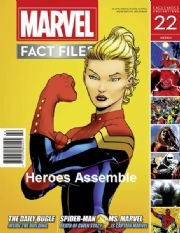 Marvel Fact Files #22 Eaglemoss Publications